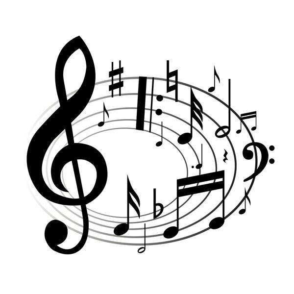 Musical clipart music program #2