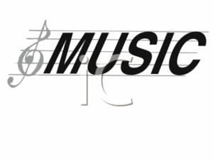 Word clipart music Clipart Music Clipart Panda music%20staff%20clipart