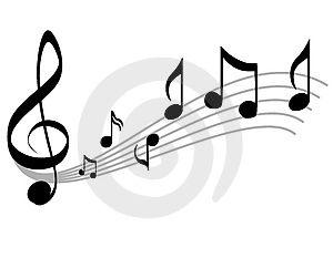 Music clipart music symbol White symbols Clipart music