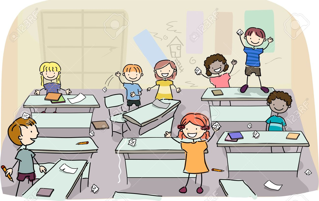 Noise clipart noisy classroom You would How quieten Primary
