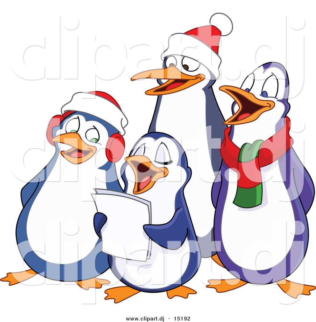 Singer clipart christmas program Clip Christmas Clipart art a