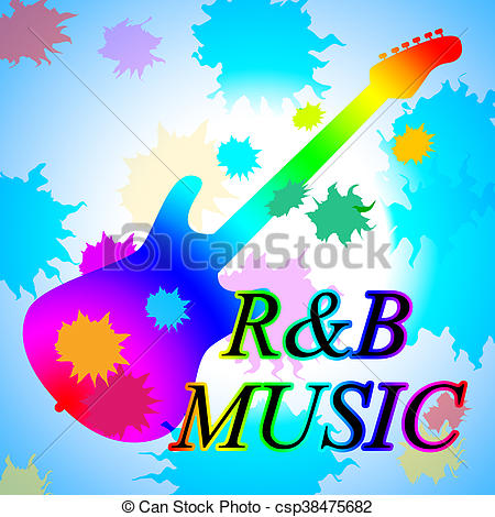 Music clipart r & b Rhythm And Stock And Music