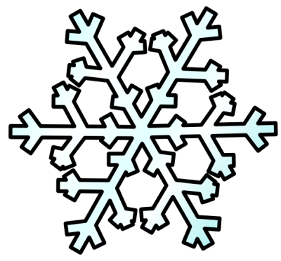 Winter clipart frost Free 7 clip Snowflakes art