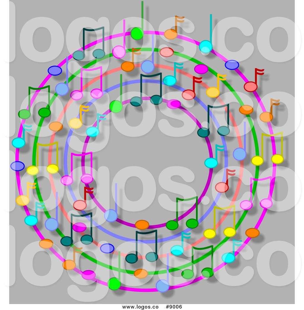 Music clipart wreath Ring or Music Logo Logo