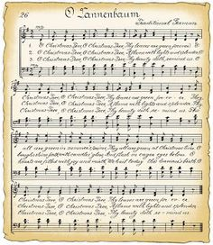 Sheet Music clipart music director Vintage to Sheet Christmas