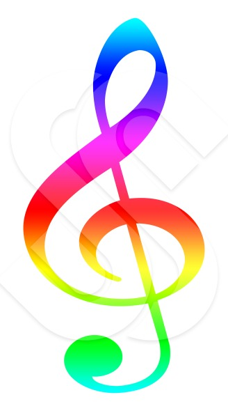Musical clipart colorful Musical  Art Free Clip