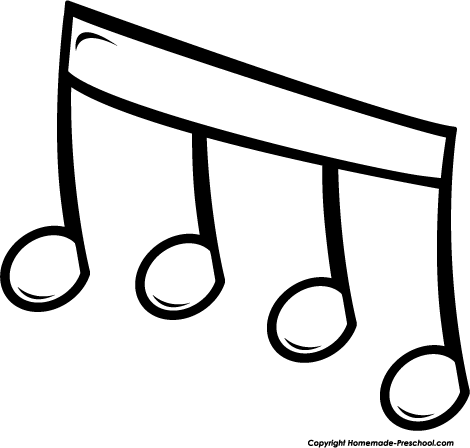 Clipart Notes Music to Save