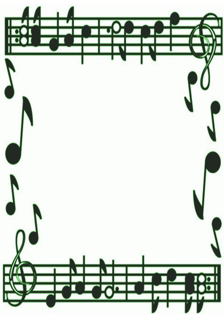 Religious clipart christmas music #6