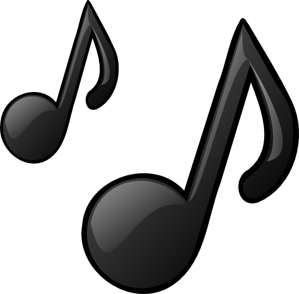 Music clipart noted Art image Clker at Music