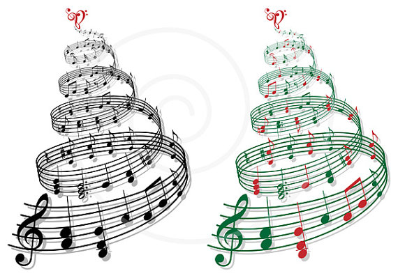 Christmas Tree clipart christmas card Images Panda Notes christmas%20music%20notes%20clipart Clipart