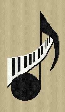 Music Notes clipart cross Musical 25+ music Note Cross