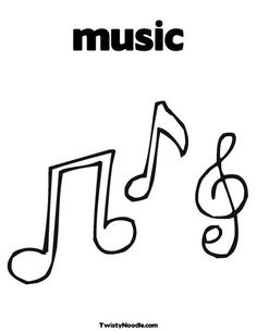 Music Notes clipart cross Music Music stitch Printable Coloring