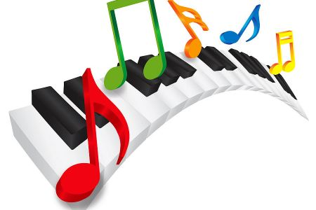 Piano clipart curved Music Note Piano UK Curved