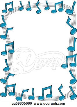 Danse clipart music and dance A on Colorful Borders Music