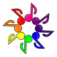 Musical clipart colorful Art  Pink royalty star