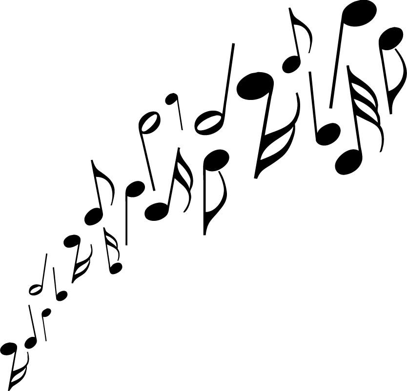 Music clipart outline Clipart Clipart Music Notes Panda