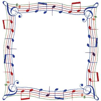Music Notes clipart frame WikiClipArt clipart 6 musical music