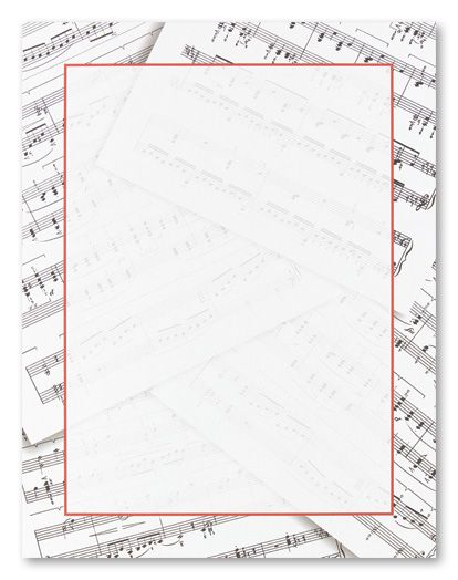 Music Notes clipart frame Free music Borders Art 2