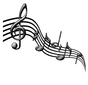 Music clipart noted Music clip musical clipart note