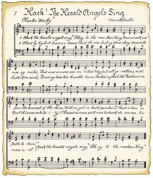 Singer clipart holiday Bookpage Printables Free Hymn about