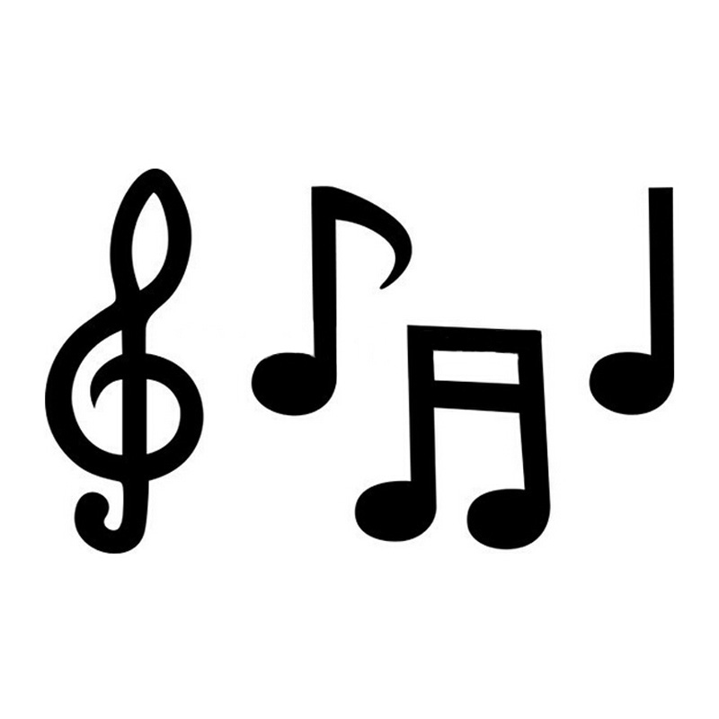 Music Notes clipart individual Car Wholesale MUSIC Car Styling