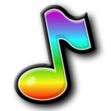 Music Notes clipart individual A in Steps Choir in