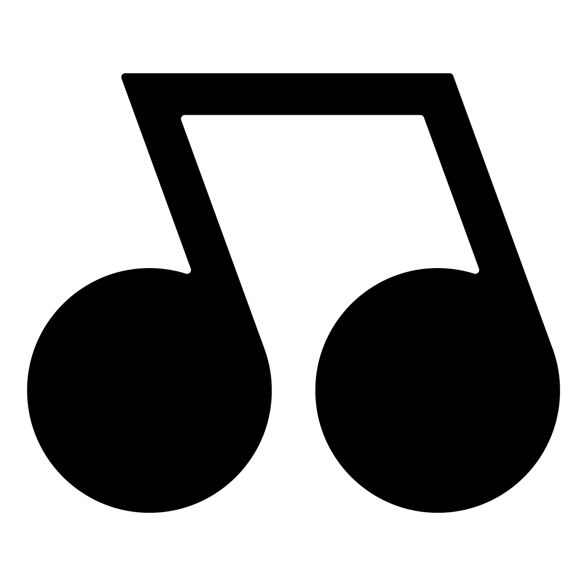 Music Notes clipart individual 07 07 LMS Little Notes