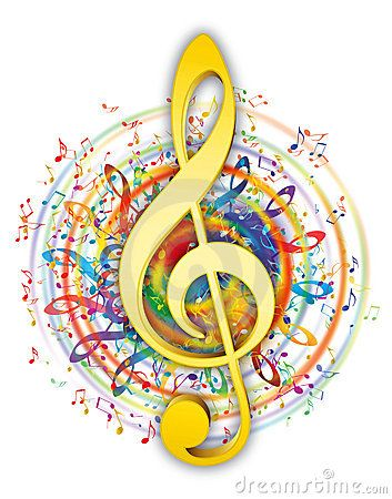 Sheet Music clipart colorful music #4