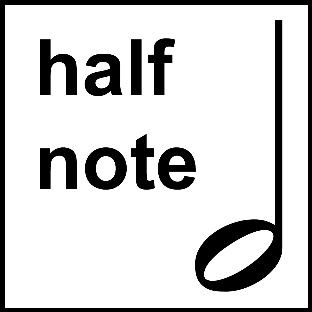 Musician clipart music lesson Clip Tes B&W Notes Music