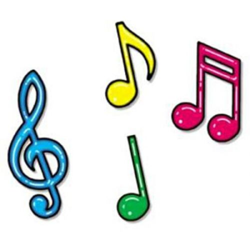 Musician clipart music score Free Notes images Colorful Pinterest