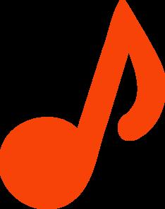 Music Notes clipart orange Music Orange Music Download Clipart