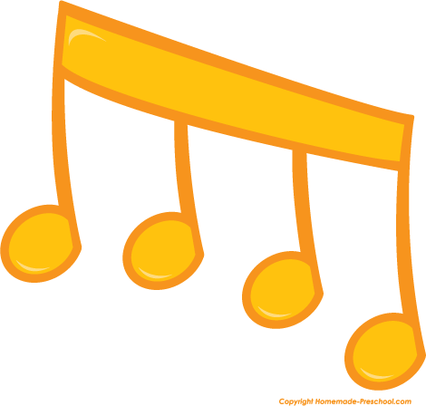 Music Notes clipart orange Gallery Notes notes clipart Orange