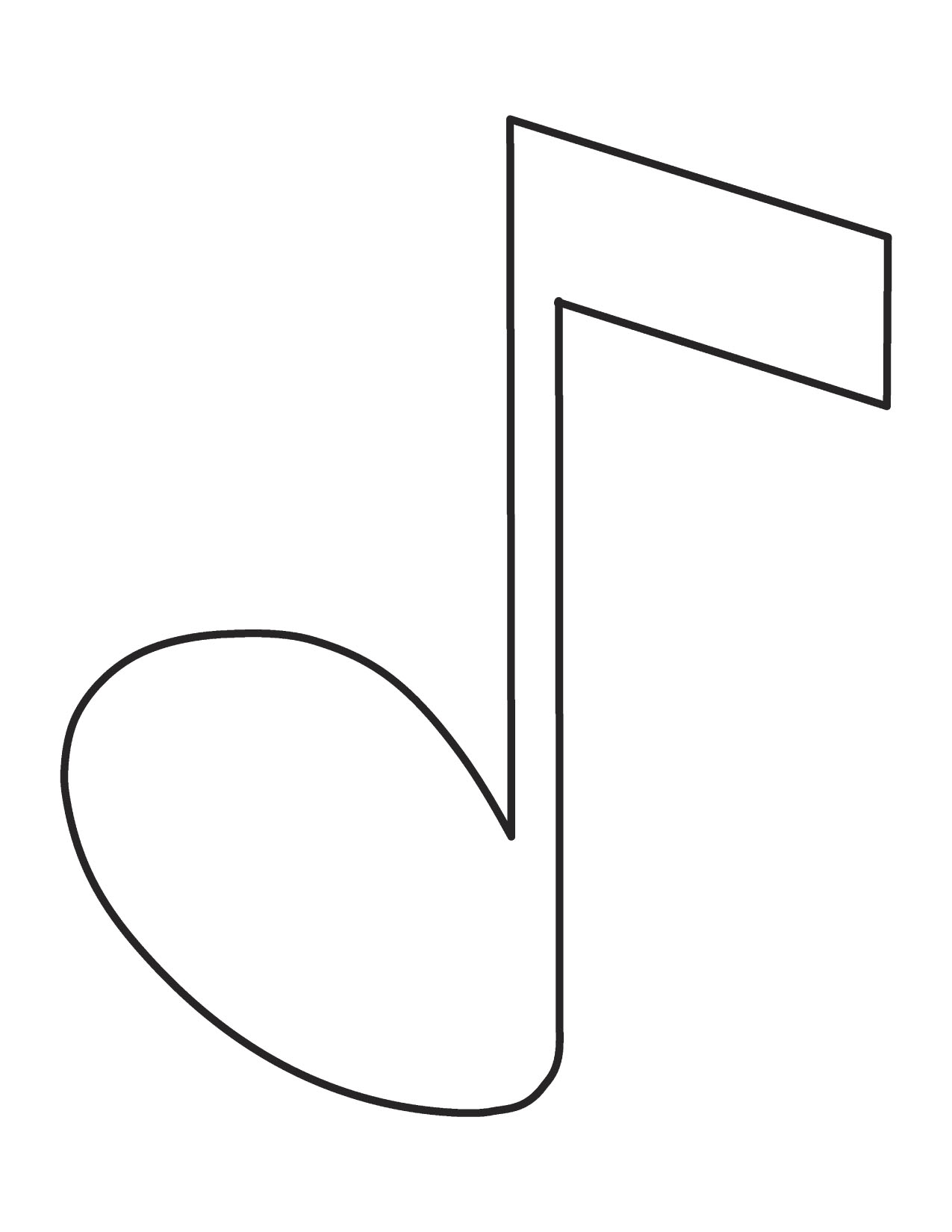 Music clipart outline Music Clipart Images Note Clipart
