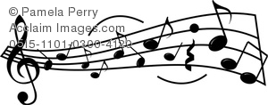 Musician clipart piano notes A a Music Image Clip