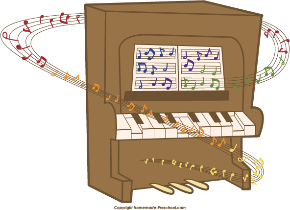 Piano clipart artwork To Free Save Notes Image