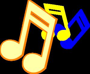 Musical clipart rhythmic #2