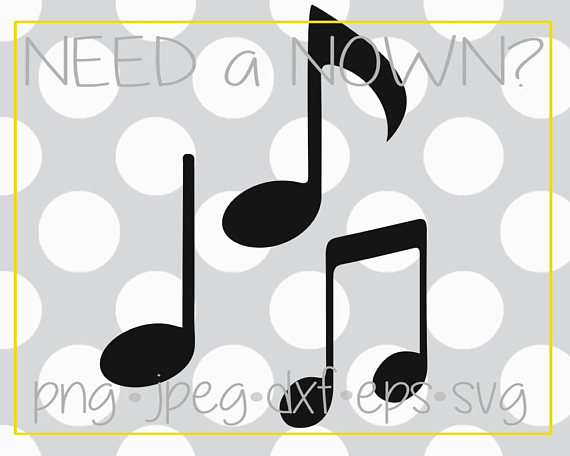 Music Notes clipart spring Note Orchestra dxf Band art