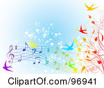 Music Notes clipart spring Spring Clipart Music Notes Clipart
