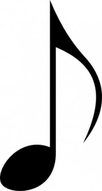 Music clipart nota Different printable PLS4  music
