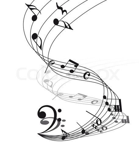 Music Notes clipart vertical Barb Musical on Guitar Music