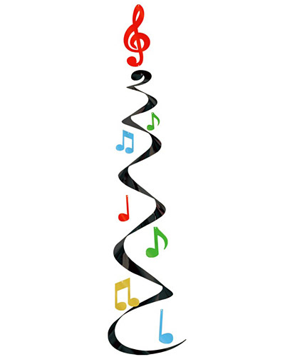 Music Notes clipart vertical Clipart Note Music Colorful Note