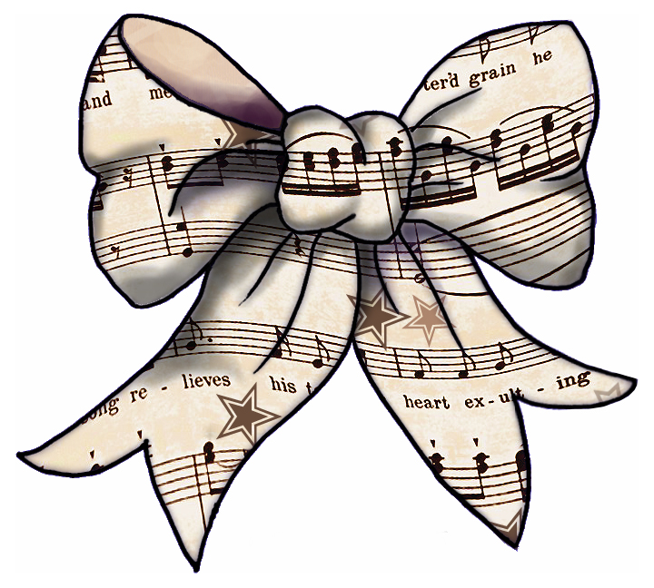 Sheet Music clipart colorful music #5