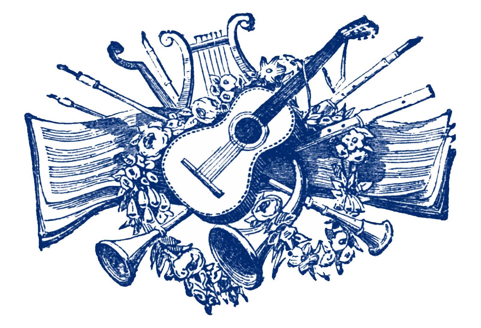 Musical clipart Notes music music art free