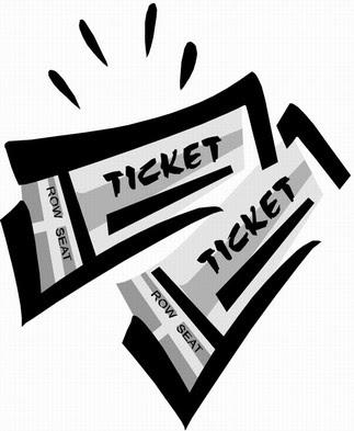 Musical clipart concert ticket Ticket ticket Concert Clipart