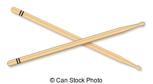 Musical clipart drumstick #11