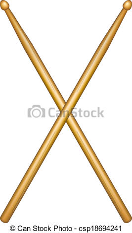 Musical clipart drumstick #10