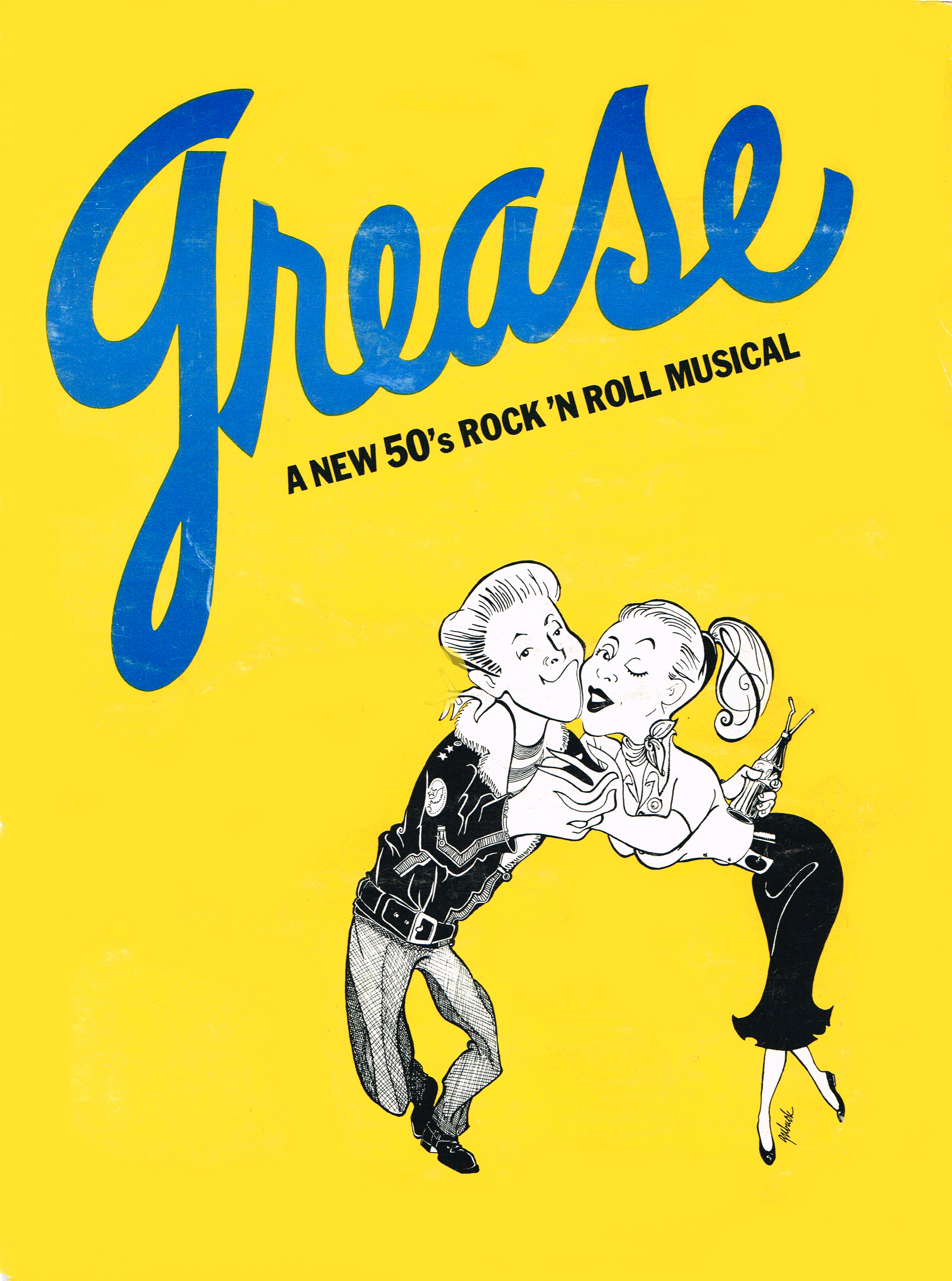 Musical clipart grease Grease PAUL BOP SHU cover