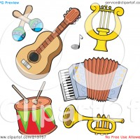 Musical clipart insturment Free clipartpig Clipart Cute on