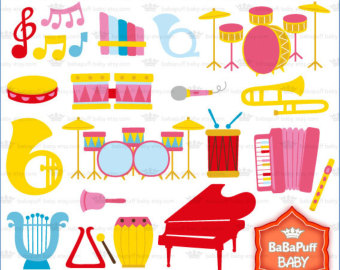 Musical clipart insturment Rock collection free Trumpet clipart