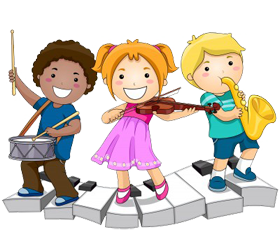 Musical clipart music program #12